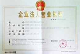 鑫翔宇荣誉-企业法人执照