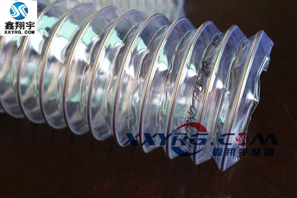 XY-0314pu透明钢丝伸缩管(伸缩性强)