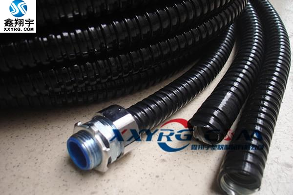 XY-0613穿线包塑金属软管 电线电缆保护