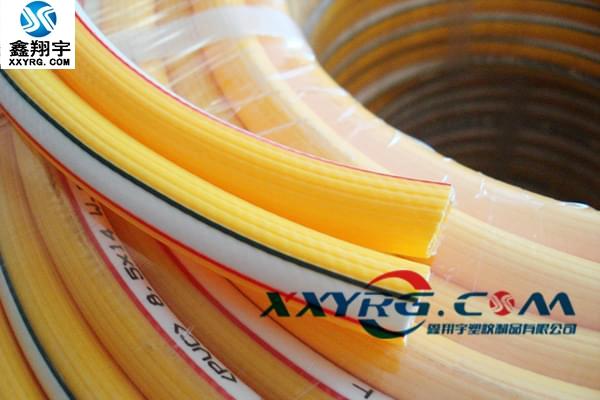 XY-0212PVC黄色耐高压胶管 空压机软管 气管