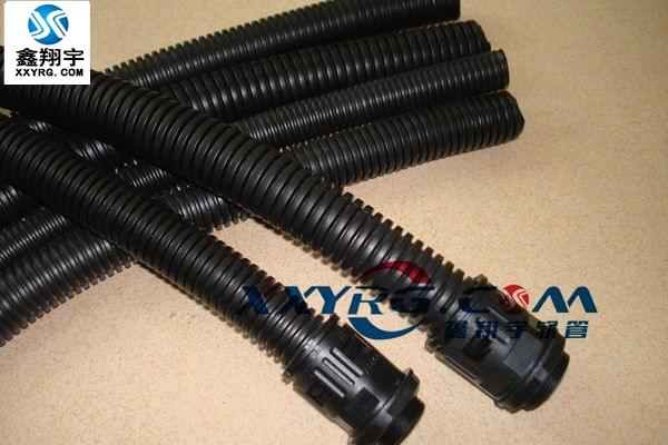XY-0606穿线聚丙烯PP阻燃塑料波纹软管 电线电缆保护软管