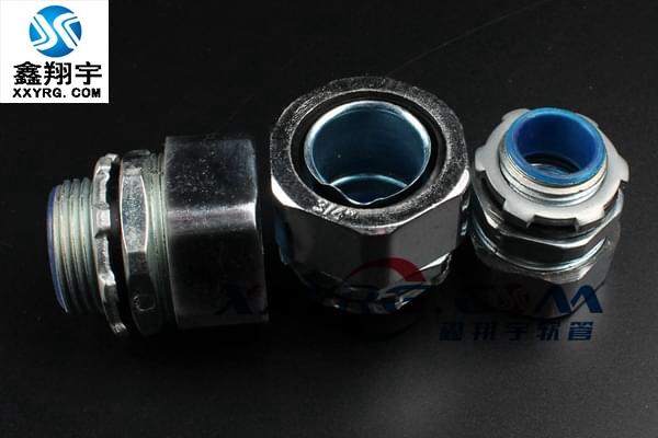 XY-8002包塑 不锈钢金属软管外牙型接头