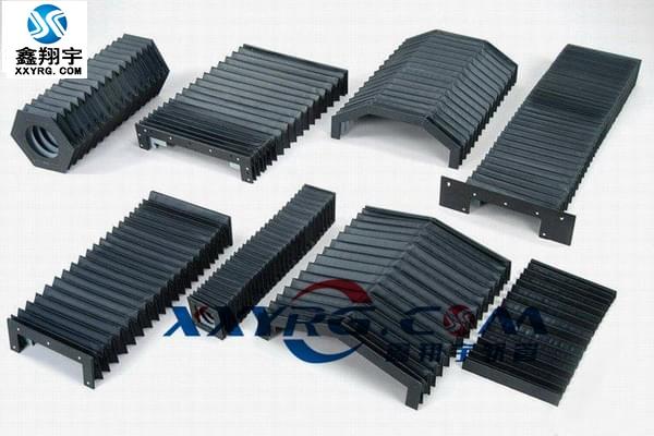 机床导轨伸缩风琴式防护防尘罩
