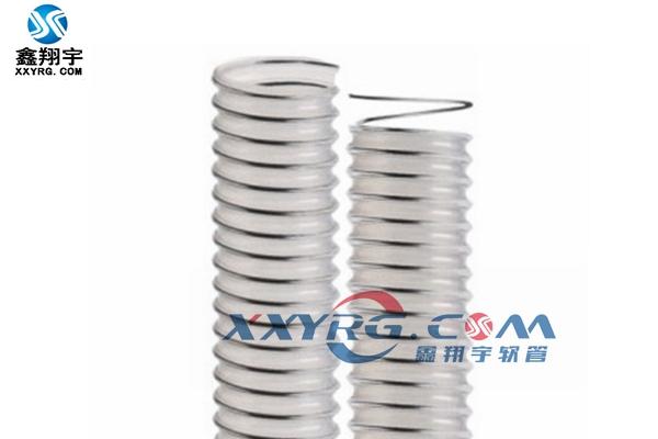 KS0901聚醚耐水解聚氨脂pu透明钢丝软管(食品级)