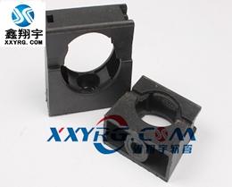 XY-8009穿线塑料波纹管带盖固定卡座支架