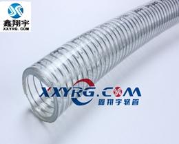 XY-0216意大利IPL进口食品卫生级PVC透明钢丝增强软管