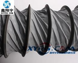 XY-0423 大口径耐高温PVC伸缩通风管 隧道 矿井 消防排烟管