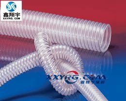 德国进口NORRES PUR351透明钢丝螺旋增强 吸尘 通风软管